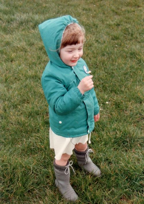 Rain gear, 1989