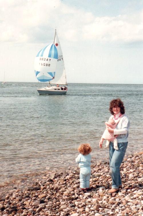 Beach, May 1987