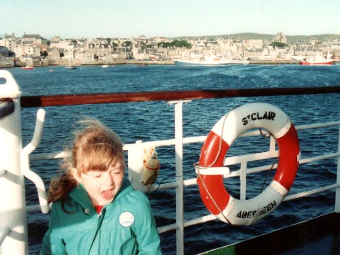 Boat deck, 1989