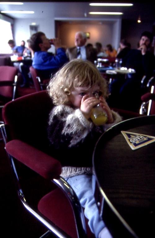 Ferry bar, 1987