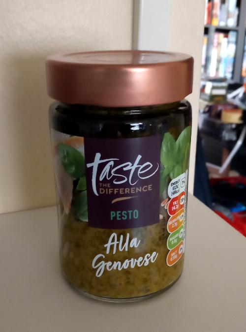 Sainsbury's Taste The Difference Pesto Alla Genovese
