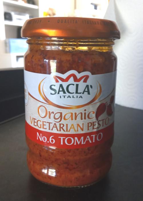 Sacla No. 6 Tomato Organic Vegetarian Pesto