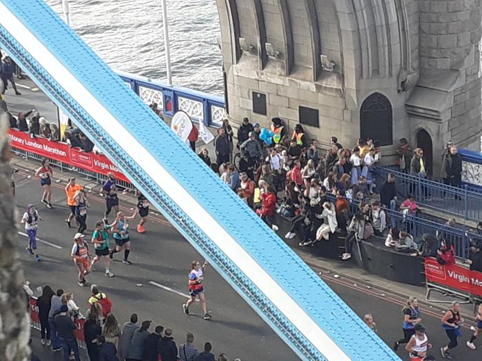 Marathon from Tower Hotel