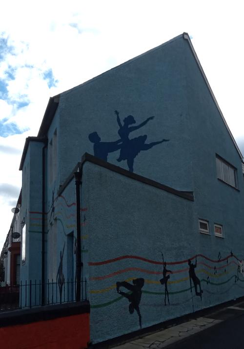Dance mural
