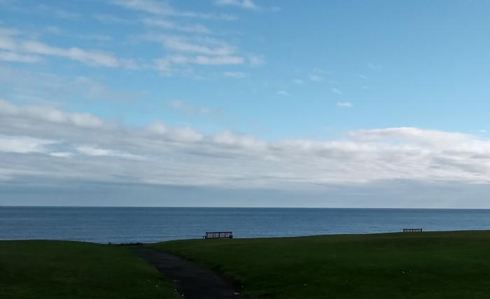 Sea at Whitley Bay